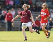 19 August 2017; Caitriona Cormican of Galway during the TG4 Ladies Football All-Ireland Senior Championship Quarter-Final match between Cork and Galway at Cusack Park in Westmeath. Photo by Matt Browne/Sportsfile