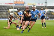 19 August 2017; Ann Dalton of Kilkenny in action against Ellen McGovern of Dublin during the All-Ireland Senior Camogie Championship Semi-Final between Dublin and Kilkenny at the Gaelic Grounds in Limerick. Photo by Diarmuid Greene/Sportsfile