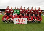 13 May 2012; The Cherry Orchard FC squad. FAI Umbro Intermediate Cup, Cherry Orchard FC v Avondale FC, Tallaght Stadium, Tallaght, Co. Dublin. Picture credit: Tomas Greally / SPORTSFILE