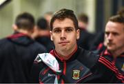 20 August 2017; Lee Keegan of Mayo arrives at the ground ahead of the GAA Football All-Ireland Senior Championship Semi-Final match between Kerry and Mayo at Croke Park in Dublin. Photo by Daire Brennan/Sportsfile