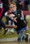 20 August 2017; Darragh Landers, from St Peter and Pauls, Co Tipperary, competes in the U14 Mixed Skittles event during day 2 of the Aldi Community Games August Festival 2017 at the National Sports Campus in Dublin. Photo by Cody Glenn/Sportsfile