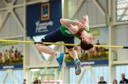 20 August 2017; Iarlaith Golding of Balla, Co Mayo, competing in the Boys U16 and O14 High Jump event during day 2 of the Aldi Community Games August Festival 2017 at the National Sports Campus in Dublin. Photo by Sam Barnes/Sportsfile