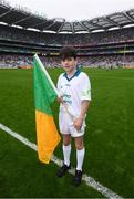 20 August 2017; eir GAA flagbearer Liam Palmer at the All-Ireland Senior Football Semi-final between Mayo and Kerry in Croke Park, Dublin. Photo by Stephen McCarthy/Sportsfile