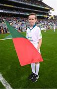 20 August 2017; eir GAA flagbearer Jack Nevin at the All-Ireland Senior Football Semi-final between Mayo and Kerry in Croke Park, Dublin. Photo by Stephen McCarthy/Sportsfile