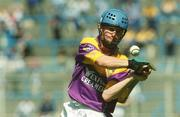 11 August 2002; Joe Codd, Wexford Minor. Hurling. Picture credit; Damien Eagers / SPORTSFILE