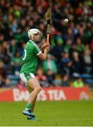 19 August 2017; Aaron Gillane of Limerick takes a free during the Bord Gáis Energy GAA Hurling All-Ireland U21 Championship Semi-Final match between Galway and Limerick at Semple Stadium in Tipperary. Photo by Piaras Ó Mídheach/Sportsfile