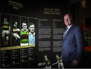 24 August 2017; Former Kerry footballer Jack O'Shea in attendance during the GAA Museum Hall of Fame – Announcement of 2017 Inductees event at Croke Park in Dublin. Photo by Matt Browne/Sportsfile