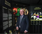 24 August 2017; Former Offaly hurler Padraig Horan during the GAA Museum Hall of Fame – Announcement of 2017 Inductees event at GAA Museum Auditorium at Croke Park in Dublin. Photo by Matt Browne/Sportsfile