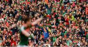 30 July 2017; Mayo supporters during the GAA Football All-Ireland Senior Championship Quarter-Final match between Mayo and Roscommon at Croke Park in Dublin. Photo by Piaras Ó Mídheach/Sportsfile