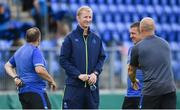 25 August 2017; Leinster head coach Leo Cullen ahead of the Bank of Ireland pre-season friendly match between Leinster and Bath at Donnybrook Stadium in Dublin. Photo by Ramsey Cardy/Sportsfile