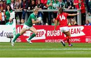 26 August 2017; Alison Miller of Ireland during the 2017 Women's Rugby World Cup, 7th Place Play-Off between Ireland and Wales at Kingspan Stadium in Belfast. Photo by John Dickson/Sportsfile