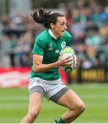 26 August 2017; Hannah Tyrrell of Ireland during the 2017 Women's Rugby World Cup, 7th Place Play-Off between Ireland and Wales at Kingspan Stadium in Belfast. Photo by John Dickson/Sportsfile