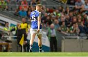 26 August 2017; Peter Crowley of Kerry leaves the field after being sent off by referee David Gough during the GAA Football All-Ireland Senior Championship Semi-Final Replay match between Kerry and Mayo at Croke Park in Dublin. Photo by Piaras Ó Mídheach/Sportsfile