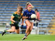 26 August 2017; Orla O'Dwyer of Tipperary in action against Katie Newe of Meath during the TG4 Ladies Football All-Ireland Intermediate Championship Semi-Final match between Meath and Tipperary at Semple Stadium in Thurles, Co. Tipperary. Photo by Matt Browne/Sportsfile