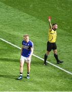26 August 2017; Peter Crowley of Kerry receives a red card from referee David Gough during the GAA Football All-Ireland Senior Championship Semi-Final Replay match between Kerry and Mayo at Croke Park in Dublin. Photo by Daire Brennan/Sportsfile