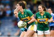 26 August 2017; Emma Sherwood of Kerry in action against Nicole Owens of Dublin during the TG4 Ladies Football All-Ireland Senior Championship Semi-Final match between Dublin and Kerry at Semple Stadium in Thurles, Co. Tipperary. Photo by Matt Browne/Sportsfile
