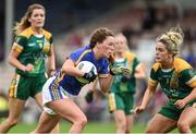 26 August 2017; Gillian O'Brien of Tipperary in action against Emma White of  Meath during the TG4 Ladies Football All-Ireland Intermediate Championship Semi-Final match between Meath and Tipperary at Semple Stadium in Thurles, Co. Tipperary. Photo by Matt Browne/Sportsfile