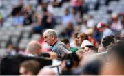 27 August 2017; Tyrone manager Mickey Harte ahead of the Football All-Ireland Senior Championship Semi-Final match between Dublin and Tyrone at Croke Park in Dublin. Photo by Ramsey Cardy/Sportsfile