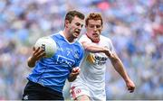 27 August 2017; Jack McCaffrey of Dublin in action against Peter Harte of Tyrone during the GAA Football All-Ireland Senior Championship Semi-Final match between Dublin and Tyrone at Croke Park in Dublin. Photo by Ramsey Cardy/Sportsfile