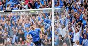 27 August 2017; Eoghan O'Gara of Dublin after scoring his side's second goal of the game during the GAA Football All-Ireland Senior Championship Semi-Final match between Dublin and Tyrone at Croke Park in Dublin. Photo by Ramsey Cardy/Sportsfile