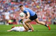 27 August 2017; John Small of Dublin in action against Peter Harte of Tyrone during the GAA Football All-Ireland Senior Championship Semi-Final match between Dublin and Tyrone at Croke Park in Dublin. Photo by Ray McManus/Sportsfile