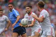 27 August 2017; Tiernan McCann of Tyrone during the Football All-Ireland Senior Championship Semi-Final match between Dublin and Tyrone at Croke Park in Dublin. Photo by Brendan Moran/Sportsfile
