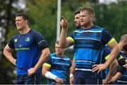 28 August 2017; Leinster's Jamie Heaslip during squad training at UCD in Dublin. Photo by Ramsey Cardy/Sportsfile