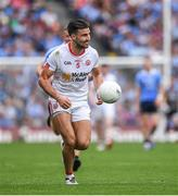 27 August 2017; Tiernan McCann of Tyrone during the GAA Football All-Ireland Senior Championship Semi-Final match between Dublin and Tyrone at Croke Park in Dublin. Photo by Ray McManus/Sportsfile