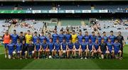 27 August 2017; The Kerry squad before the All-Ireland U17 Football Championship Final match between Tyrone and Roscommon at Croke Park in Dublin. Photo by Ray McManus/Sportsfile