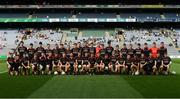 27 August 2017; The Tyrone squad before the All-Ireland U17 Football Championship Final match between Tyrone and Roscommon at Croke Park in Dublin. Photo by Ray McManus/Sportsfile