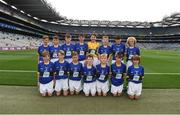 26 August 2017; The Dr Crokes U12 team ahead of the GAA Football All-Ireland Senior Championship Semi-Final Replay match between Kerry and Mayo at Croke Park in Dublin. Photo by Daire Brennan/Sportsfile