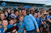 30 August 2017; Dublin footballer Diarmuid Connolly during a meet and greet with supporters at Parnell Park in Dublin. Photo by Piaras Ó Mídheach/Sportsfile