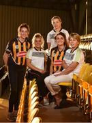 30 August 2017; Ann Downey manager of Kilkenny with players from left Denise Gaule, Shelly Farrell, team captain Ann Farrell and Michelle Quilty during a press conference at Nowlan Park in Kilkenny. Photo by Matt Browne/Sportsfile