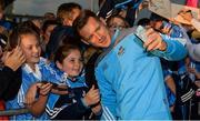 30 August 2017; Dublin footballer Paul Flynn during a meet and greet with supporters at Parnell Park in Dublin. Photo by Piaras Ó Mídheach/Sportsfile