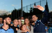 30 August 2017; Dublin footballer Stephen Cluxton during a meet and greet with supporters at Parnell Park in Dublin. Photo by Piaras Ó Mídheach/Sportsfile