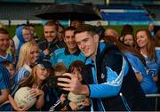 30 August 2017; Dublin footballer Brian Fenton during a meet and greet with supporters at Parnell Park in Dublin. Photo by Piaras Ó Mídheach/Sportsfile