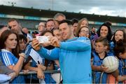 30 August 2017; Dublin footballer Philly McMahon during a meet and greet with supporters at Parnell Park in Dublin. Photo by Piaras Ó Mídheach/Sportsfile