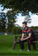 11 September 2017; Brendan Harrison of Mayo poses for a portrait following a press conference ahead of the GAA Football All-Ireland Senior Championship Final at Breaffy House Hotel in Breaffy, Co Mayo. Photo by Seb Daly/Sportsfile