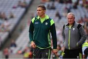 26 August 2017; Kerry selector Maurice Fitzgerald during the GAA Football All-Ireland Senior Championship Semi-Final Replay match between Kerry and Mayo at Croke Park in Dublin. Photo by Ramsey Cardy/Sportsfile