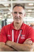 1 September 2017; USA boxing coach Billy Walsh at the AIBA World Boxing Championships in Hamburg, Germany. Photo by AIBA via Sportsfile