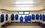 2 September 2017; A general view of the Leinster dressing room ahead of the Guinness PRO14 Round 1 match between Dragons and Leinster at Rodney Parade in Newport, Wales. Photo by Ramsey Cardy/Sportsfile