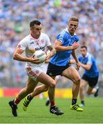 27 August 2017; Cathal McCarron of Tyrone during the GAA Football All-Ireland Senior Championship Semi-Final match between Dublin and Tyrone at Croke Park in Dublin. Photo by Ramsey Cardy/Sportsfile