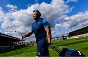 2 September 2017; Cian Healy of Leinster ahead of the Guinness PRO14 Round 1 match between Dragons and Leinster at Rodney Parade in Newport, Wales. Photo by Ramsey Cardy/Sportsfile