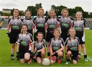 2 September 2017; Players from St. Molaise Gaels, representing Sligo in the half time Mini Games during the TG4 Ladies Football All-Ireland Intermediate Championship Semi-Final match between Sligo and Tyrone at Kingspan Breffni in Cavan. Photo by Sam Barnes/Sportsfile