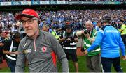 27 August 2017; Tyrone manager Mickey Harte following the GAA Football All-Ireland Senior Championship Semi-Final match between Dublin and Tyrone at Croke Park in Dublin. Photo by Ramsey Cardy/Sportsfile