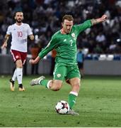 2 September 2017; Aiden McGeady of Republic of Ireland during the FIFA World Cup Qualifier Group D match between Georgia and Republic of Ireland at Boris Paichadze Dinamo Arena in Tbilisi, Georgia. Photo by David Maher/Sportsfile