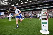 3 September 2017; Austin Gleeson of Waterford runs out prior to the GAA Hurling All-Ireland Senior Championship Final match between Galway and Waterford at Croke Park in Dublin. Photo by Stephen McCarthy/Sportsfile