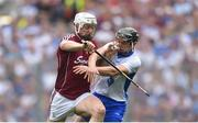 3 September 2017; Joe Canning of Galway is tackled by Pauric Mahony of Waterford during the GAA Hurling All-Ireland Senior Championship Final match between Galway and Waterford at Croke Park in Dublin. Photo by Ramsey Cardy/Sportsfile