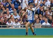 3 September 2017; Kevin Moran of Waterford celebrates scoring his sides first goal during the GAA Hurling All-Ireland Senior Championship Final match between Galway and Waterford at Croke Park in Dublin. Photo by Piaras Ó Mídheach/Sportsfile