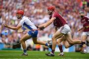 3 September 2017; Tadhg de Búrca of Waterford in action against Conor Whelan of Galway during the GAA Hurling All-Ireland Senior Championship Final match between Galway and Waterford at Croke Park in Dublin. Photo by Brendan Moran/Sportsfile